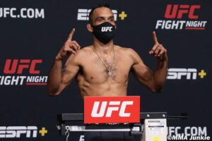 Going the Distance: Font Triumphs Over Garbrandt at UFC Vegas 27