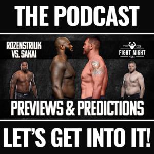 UFC Fight Night: Rozenstruik vs. Sakai Full Card Betting Guide